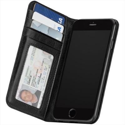 Case-mate mobile phone case: Wallet Folio Cases For iPhone 6, Black - Zwart