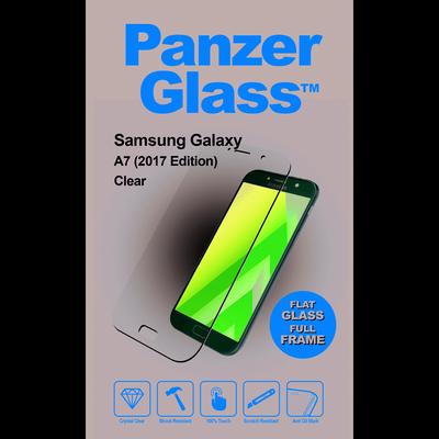 PanzerGlass Samsung Galaxy A7 (2017) Edge-to-Edge Screen protector - Transparant