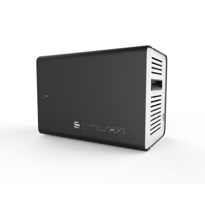 Maclocks portable device management carts & cabinet: ChargeBox - Aluminium, Zwart