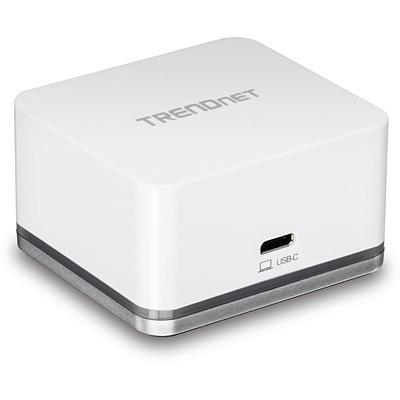 Trendnet TUC-DS1 Docking station - Zilver, Wit