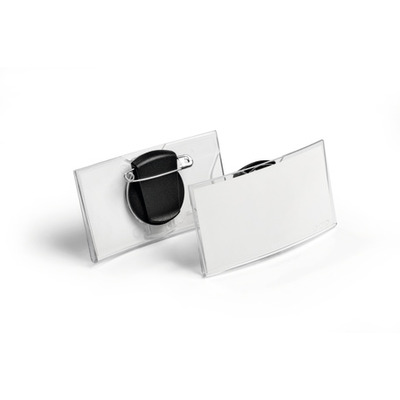Durable 8124-19 Badge - Transparant