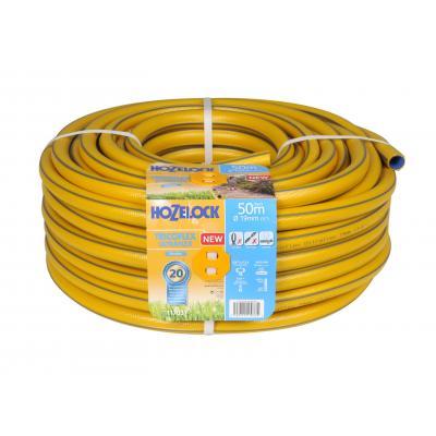 Hozelock tuinslang: Tricoflex Ultraflex slang Ø 19 mm 50 meter - Grijs, Geel