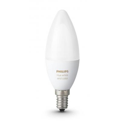 Philips personal wireless lighting: hue Losse kaarslamp E14 8718696695166 - Wit