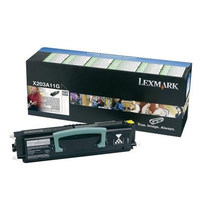 Lexmark X203n, X204n retourprogrammacartridge, 2.5K Toner - Zwart