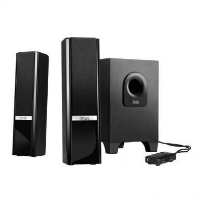 Hercules luidspreker set: 2.1 Gloss - Zwart