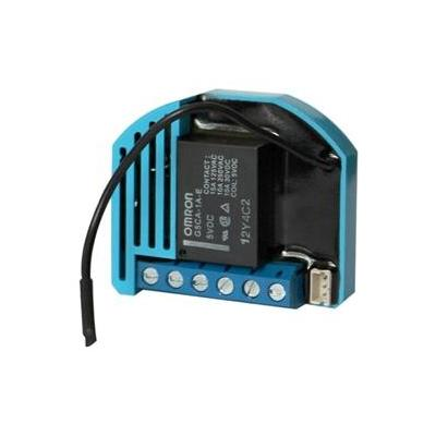 Qubino power relay: Flush 1D relay - Blauw