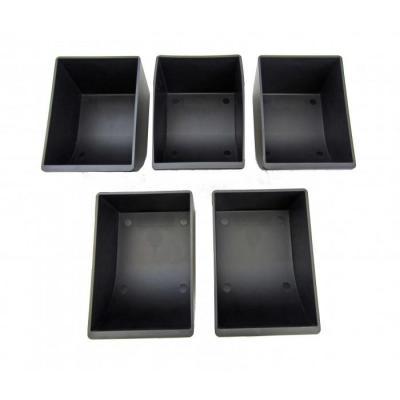 Apg cash drawer geldkist: 5 Coin Cups Kit, f/ VPK-15B-2A-BX - Zwart