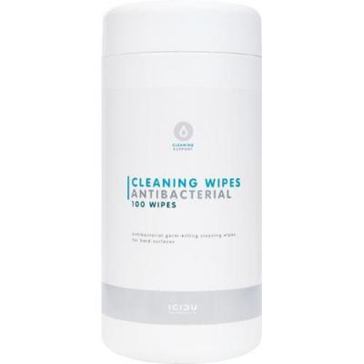 Icidu reinigingskit: Antibacteriële schoonmaakdoekjes