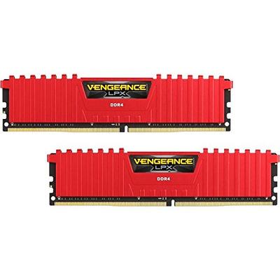 Corsair Vengeance 16GB DDR4 3000 MHz Kit RAM-geheugen - Rood
