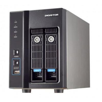 Digiever : 1GB Flash, 2GB DDR3, Gigabit Ethernet, eSATA, USB 2.0, 2090g, Black