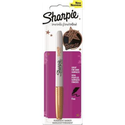 Sharpie marker: Metallic - Brons, Wit