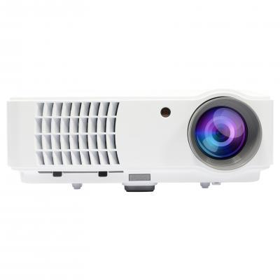 Salora beamer: Een full size LED beamer met ingebouwde TV tuner en voorzien van 2500 ansi lumen - Wit