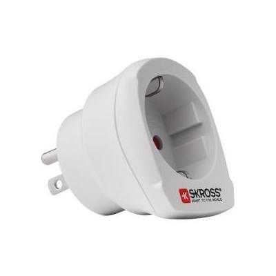 Skross stekker-adapter: SKR1500203 - Wit
