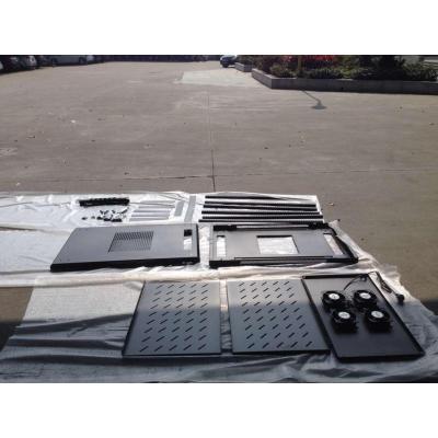 "Gembird rack: 48.26 cm (19 "") standard rack metal cabinet 42U 600X800MM - Zwart"