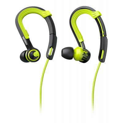 Philips koptelefoon: ActionFit Sporthoofdtelefoon SHQ3400CL/00 - Zwart, Groen