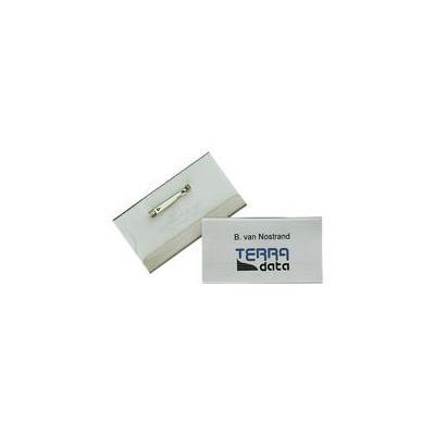 Durable naambadge: Nameplate, 40 x 75 mm - Transparant