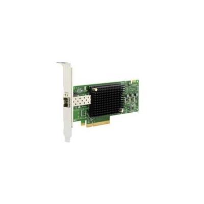Dell interfaceadapter: Emulex LPe32000-M2-D Single Port 32Gb Fibre Channel HBA, Low Profile - Groen