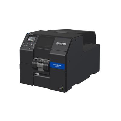 Epson ColorWorks CW-C6000Pe Labelprinter - Zwart, Cyaan, Magenta, Geel