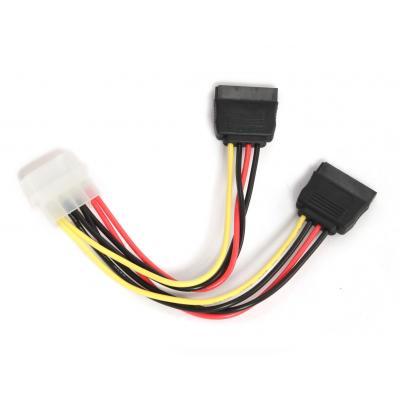 Gembird CC-SATA-PSY 2*Seriële ATA 15 cm stroomkabel ATA kabel