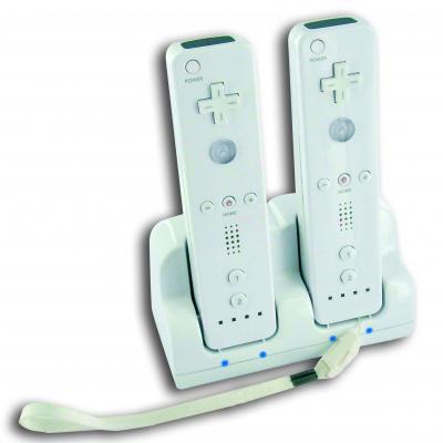 Bigben interactive batterij: Big Ben, Laadstation voor Nintendo Wii Remote Controllers (Assorti)  Wii / Wii U