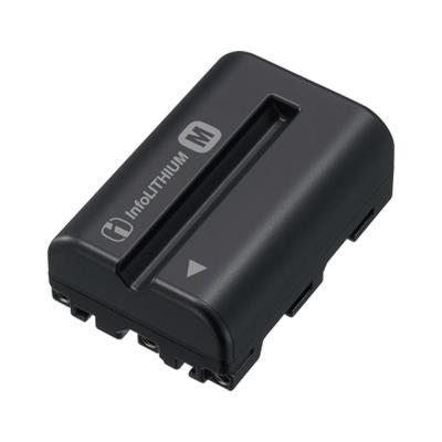 Sony batterij: NP-FM500H - Oplaadbare batterijen - Zwart