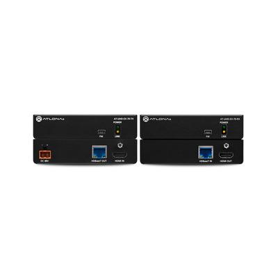 Atlona UHD-EX-70-KIT AV extender - Zwart