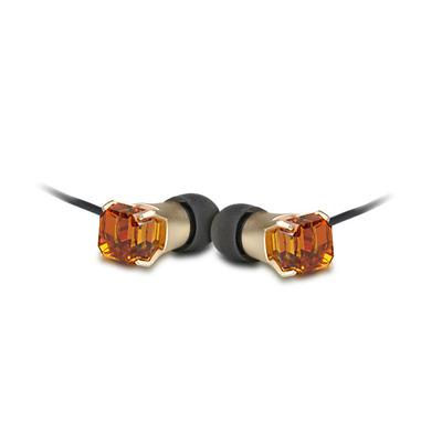 Maroo MA-EP7004 Headset - Amber, Zwart