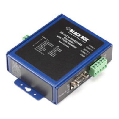 Black Box ICD200A Seriele converter/repeator/isolator - Zwart, Blauw