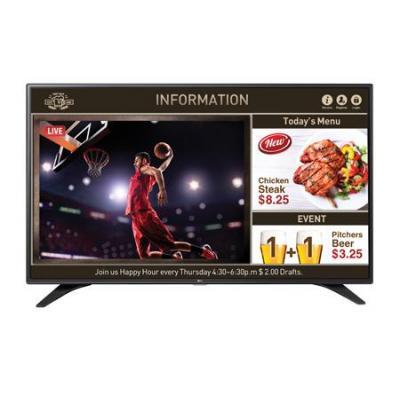 Lg led-tv: 43LW540S 43 IN HOTEL TV - Zwart
