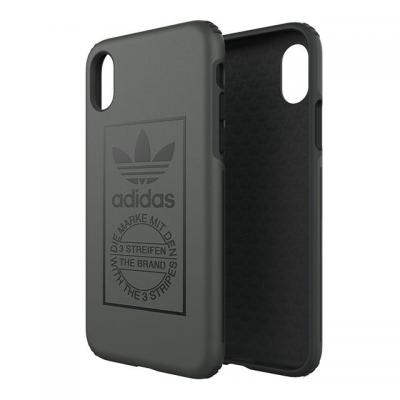 Adidas mobile phone case: iPhone X, Cover - Groen