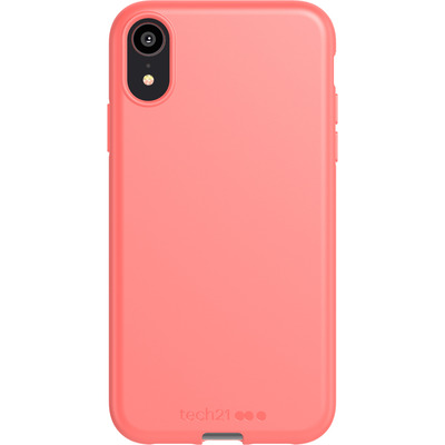 Antimicrobial Backcover iPhone Xr - Coral My World - Koraal Mobile phone case