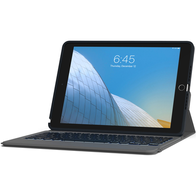 ZAGG Rugged Messenger Folio Keyboard Apple iPad 10.2 (2019) Black Tablet case