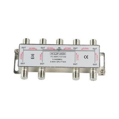 König FC-8SPLT-ST-KN kabel splitter of combiner
