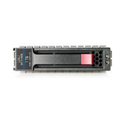 Hewlett Packard Enterprise 1TB 6G SATA LFF Externe harde schijf - Zwart