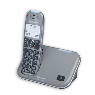 Amplicom PowerTel 1700 Dect telefoon - Grijs