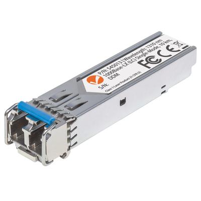 Intellinet Gigabit Fibre SFP Optical Transceiver Module, 1000Base-Lx (LC) Single-Mode Port, 10km Netwerk .....