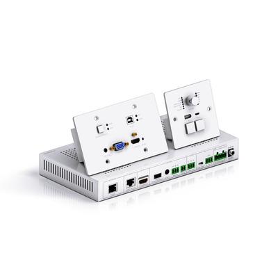 PureTools Presentation Kit, 1080P, HDBaseT AV extender - Grijs,Zilver
