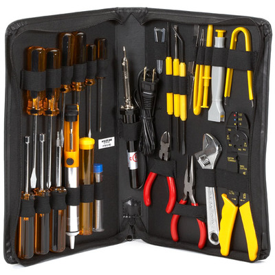 Black Box Technician's Tool Kit Stopcontact & gereedschapset