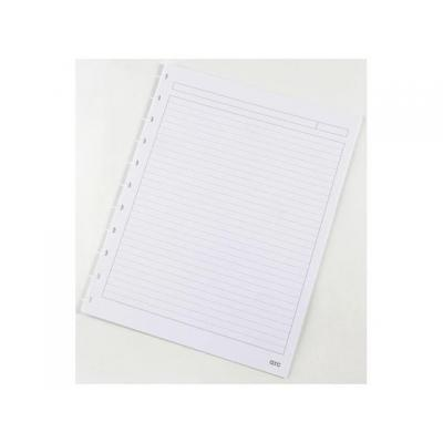 M by staples kladblokvulling: Interieurpapier ARC A4 lijn/pak 50v