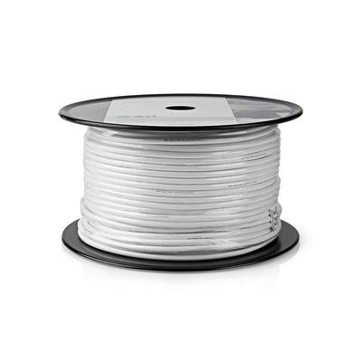 Nedis CSBG4030WT250 Coax kabel - Wit