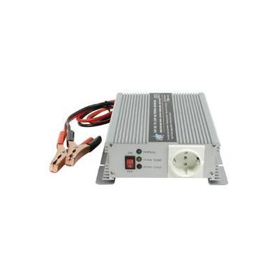 Hq netvoeding: 24V-230V 600W - Zilver