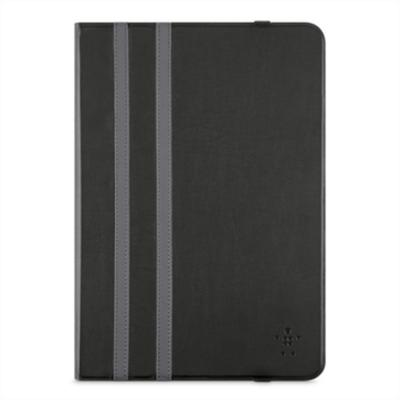 Belkin tablet case: Twin Stripe Folio-hoes voor Apple iPad Air/iPad Air 2, Zwart