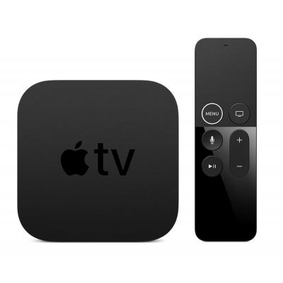 Apple : TV 4K 64GB - Zwart