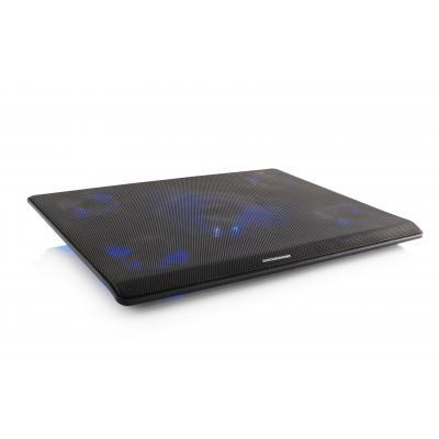 Modecom notebook koelingskussen: SILENT FAN MC-CF15 - Zwart