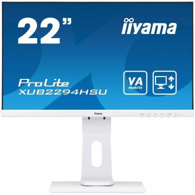 "Iiyama ProLite XUB2294HSU-W1 21,5"" Full HD VA - Business Monitor - Wit"