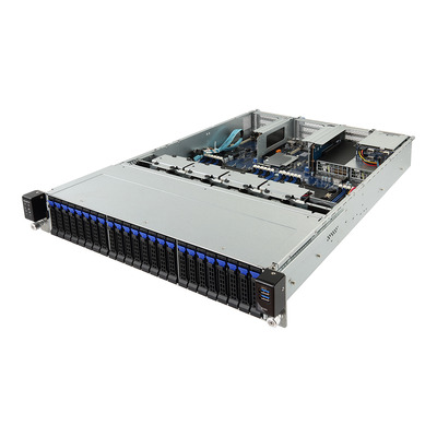 Gigabyte R281-2O0 Server barebone - Zwart,Grijs