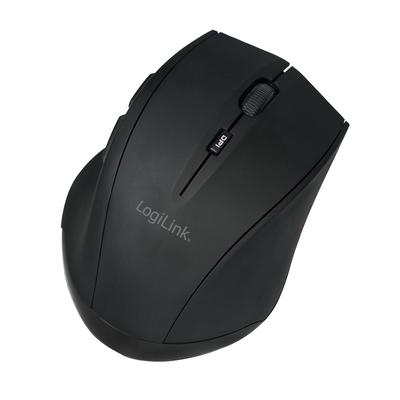 LogiLink ID0032A Computermuis - Zwart