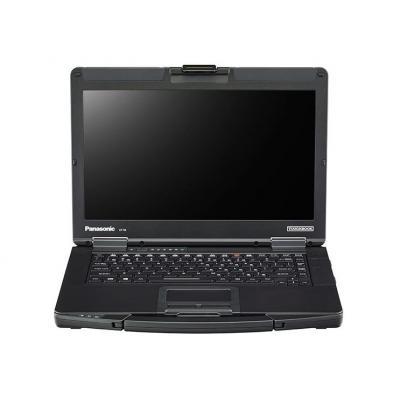 "Panasonic Toughbook CF-54 14"" HD i5 4GB RAM 256GB SSD Laptop - Zwart, Zilver"