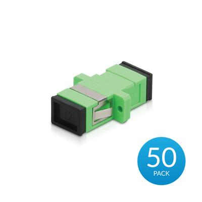 Ubiquiti Networks UFiber APC Adapter, SC/APC to SC/APC, Simplex, SM - Zwart,Groen