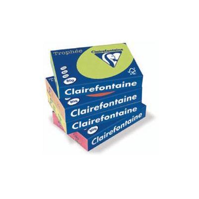 Clairefontaine papier: Trophée A4 - Geel